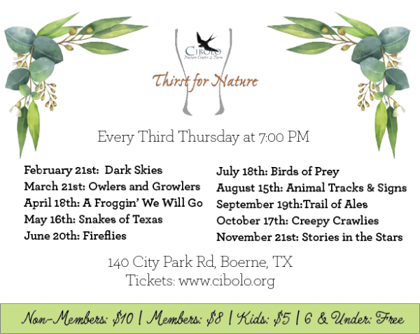 CNC: a Thirst for Nature event - Trail of Ales