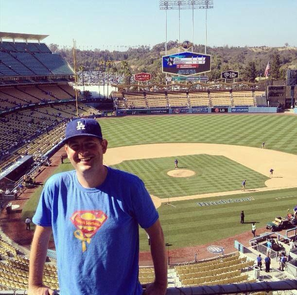 Sammy's Superheroes was represented at the LA Dodgers ThinkCure weekend! Thank you Todd Munson for this photo!