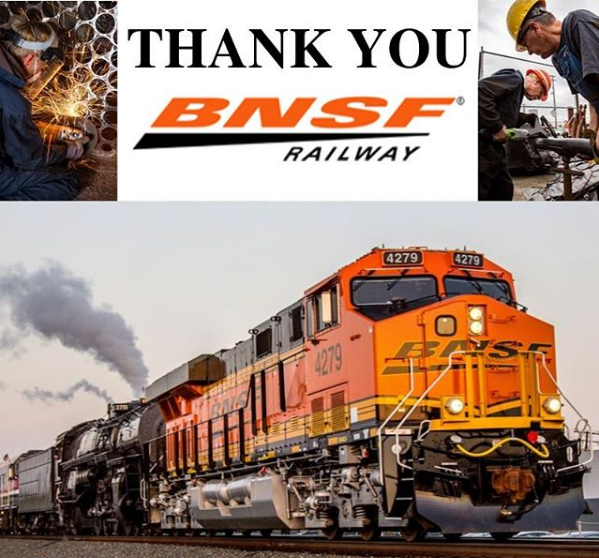 BNSF Railway Foundation Donates $10,000