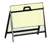Metal Sandwich Board $55.00