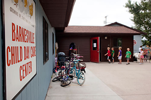 Barnesville Child Day Care Center, Then & Now