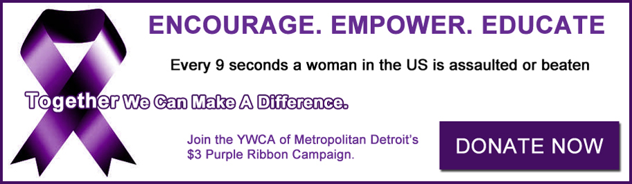 YWCA Purple Ribbon Campaign