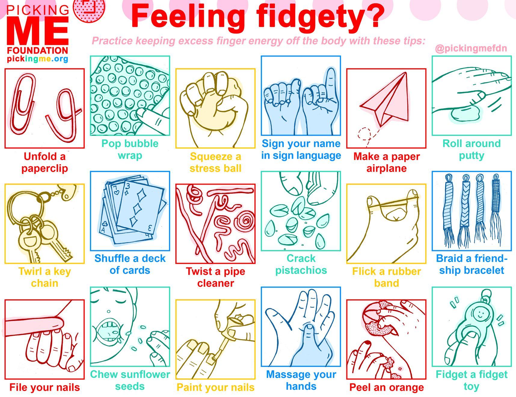 Tips for Fidgety Fingers During Quarantine