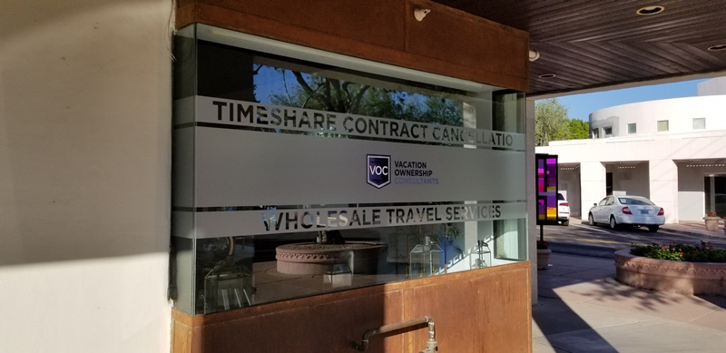Scottsdale AZ | Etched Vinyl Window Graphics