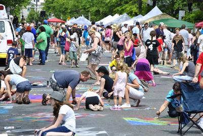 17th Annual Community Mosaic STREET PAINTING FESTIVAL