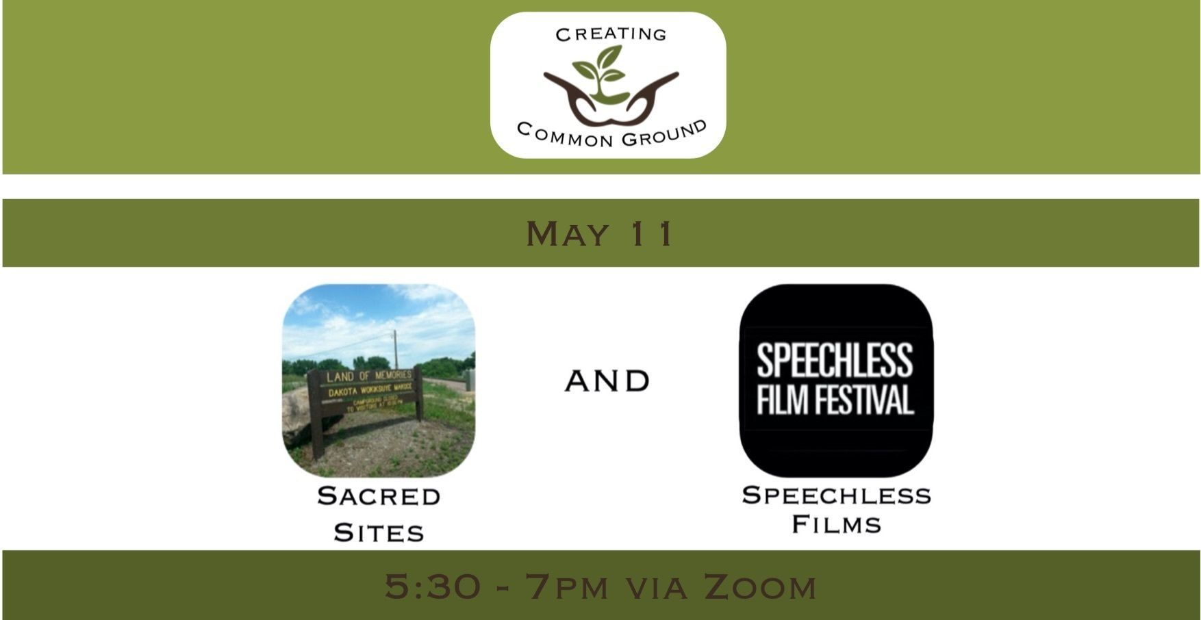 Creating Common Ground - Sacred Sites and Speechless Films