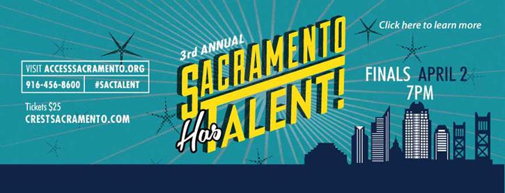 Sacramento Has Talent Ad image