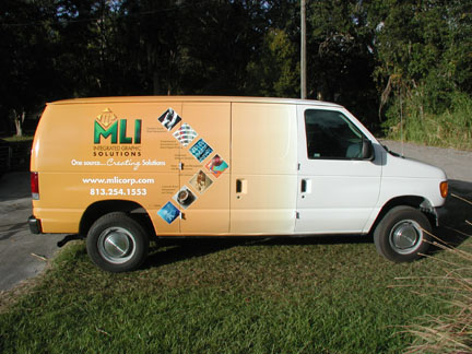 Vehicle Wraps - Partial