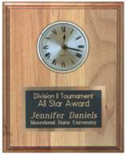 Inset Clock Plaque