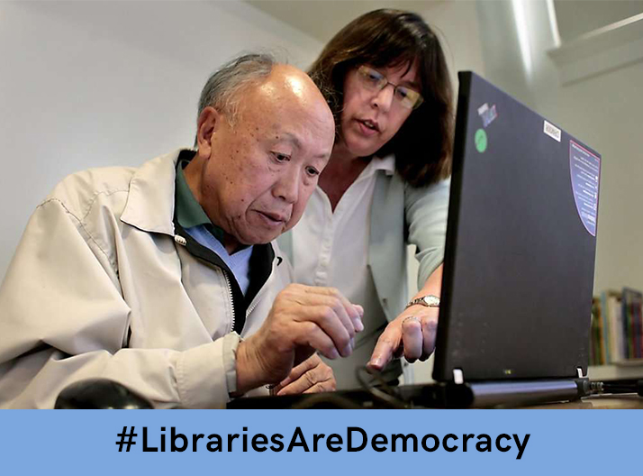Libraries Deliver Democracy