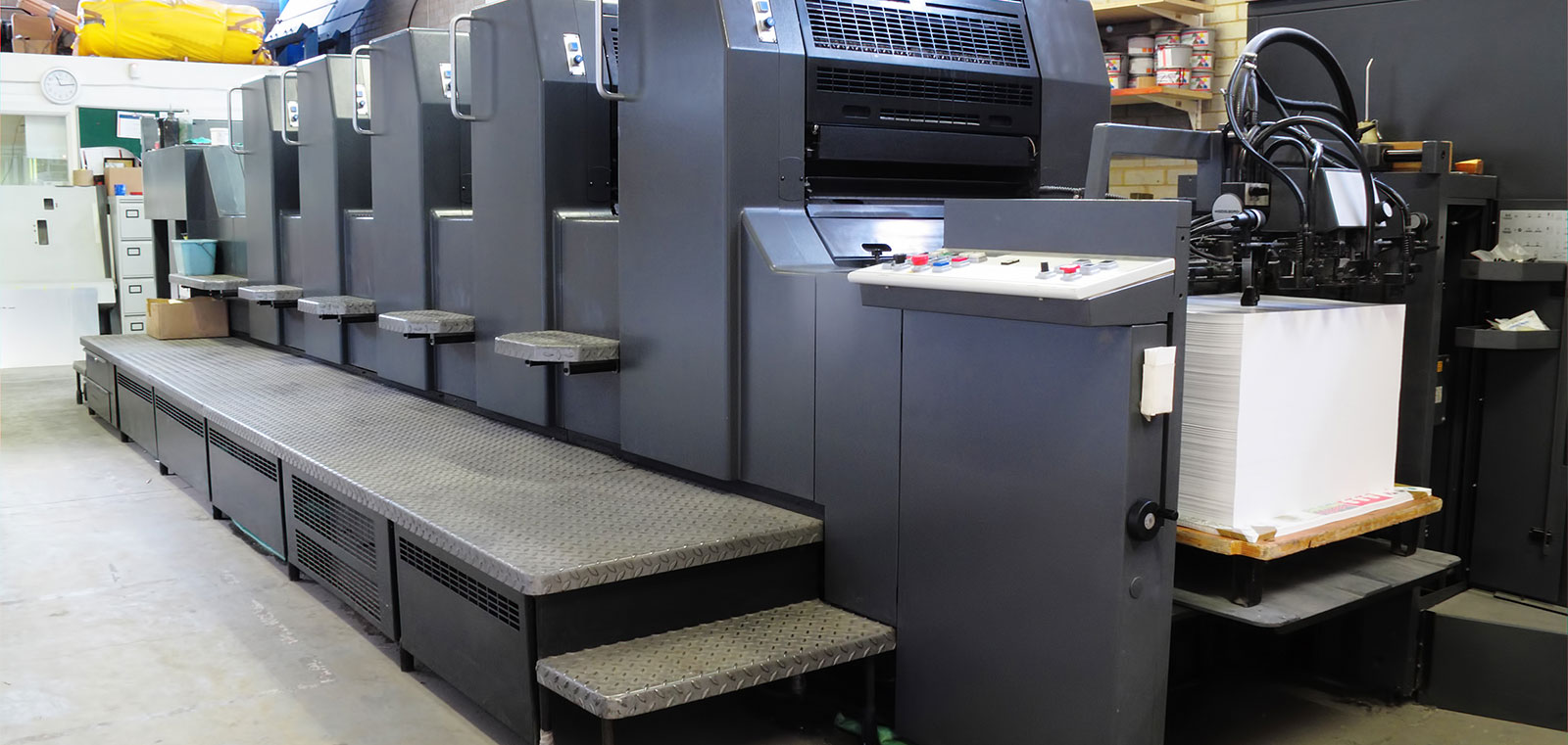 Our in-house offset capabilities are cost-effective for high volume printing