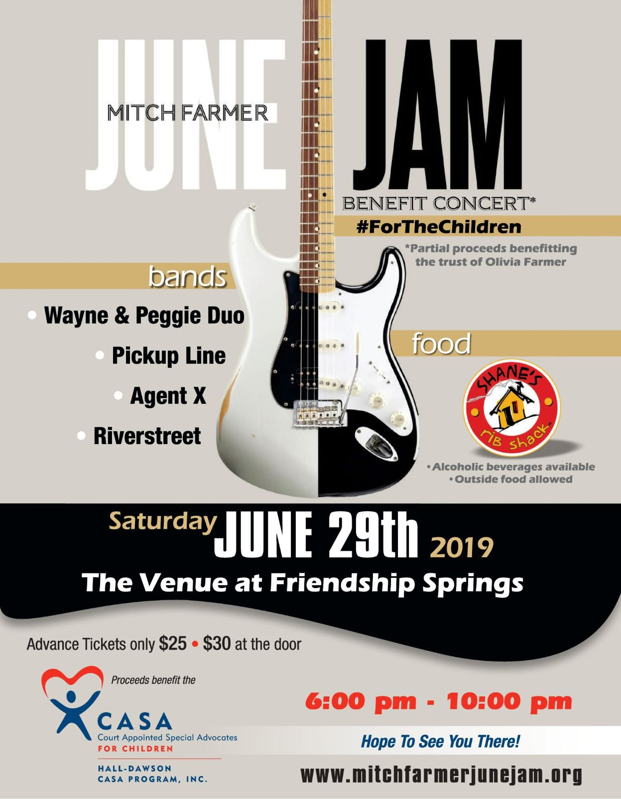 Mitch Farmer June Jam Benefit Concert