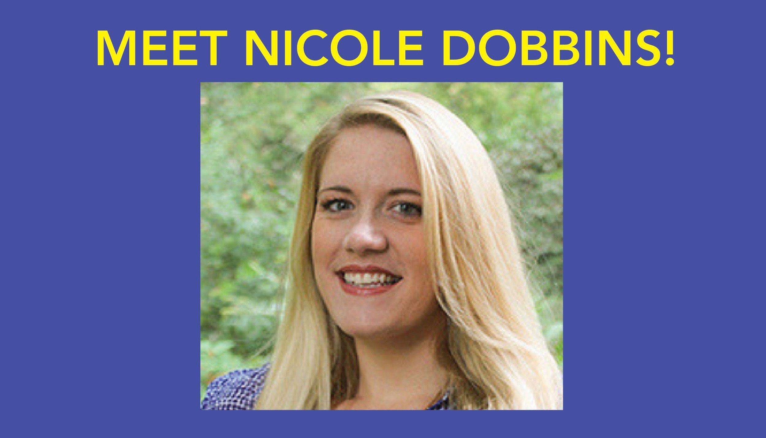Meet Nicole Dobbins