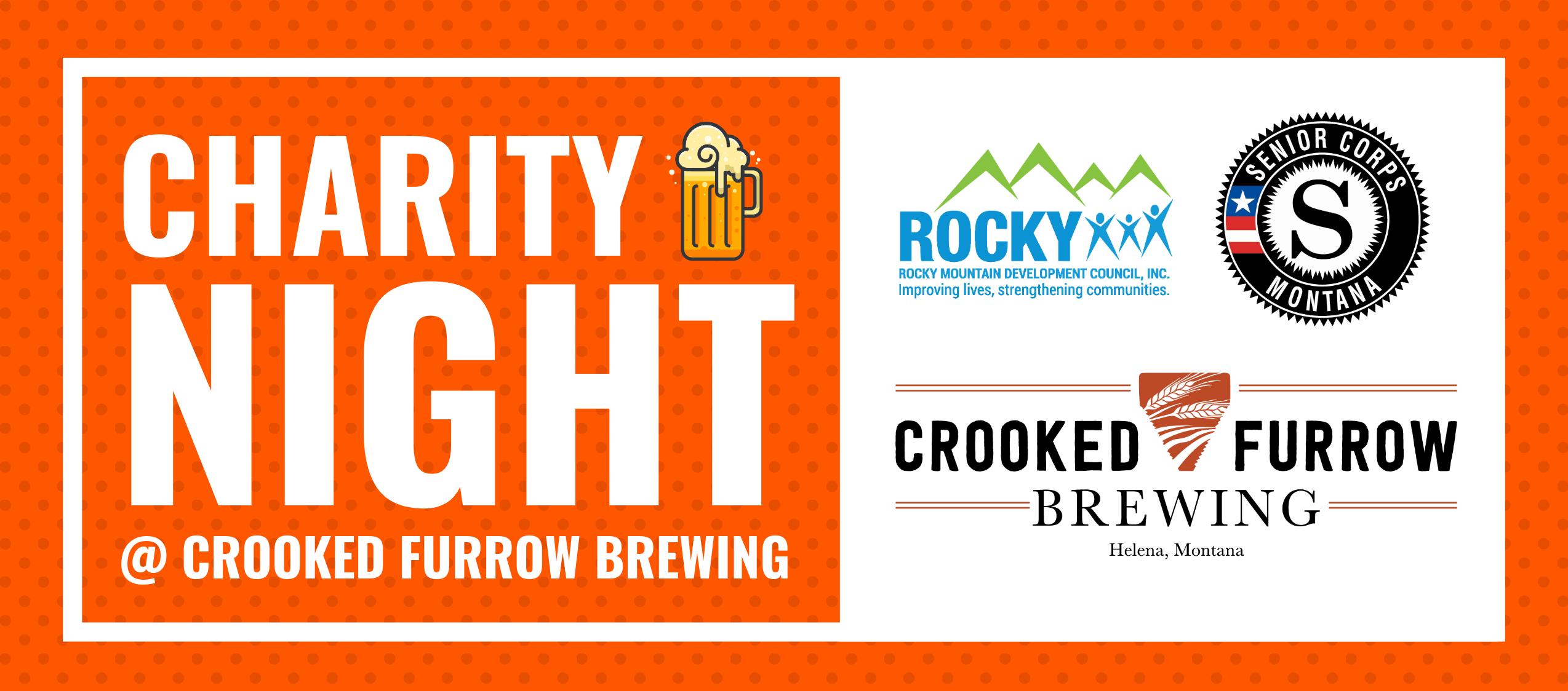 Senior Corps Charity Night at Crooked Furrow Brewing