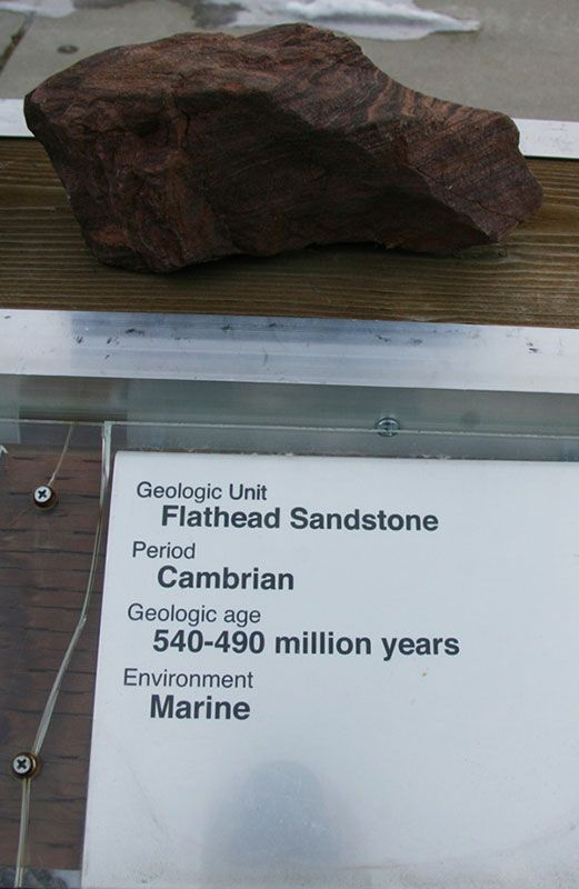 Flathead Sandstone - Cambrian