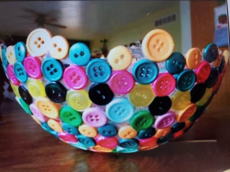 SPARKS - Arts and Crafts: Button Bowl