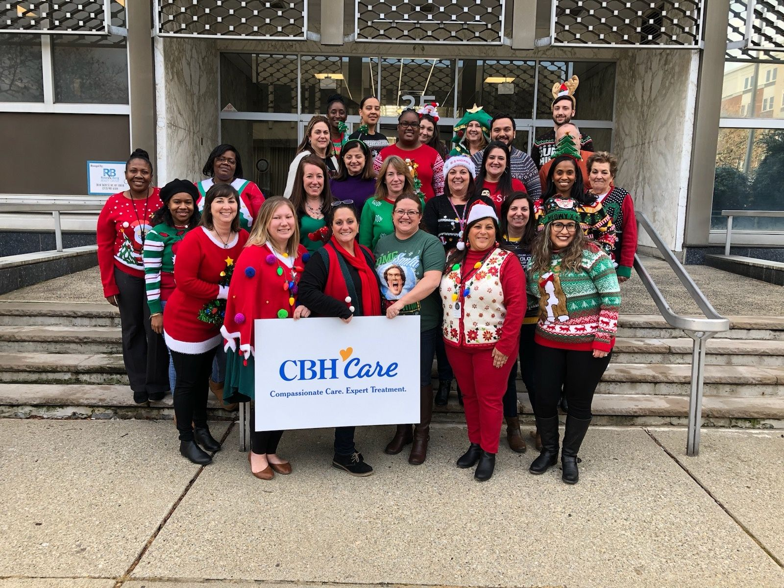 CBH Care Staff Celebrates the Holidays with Style