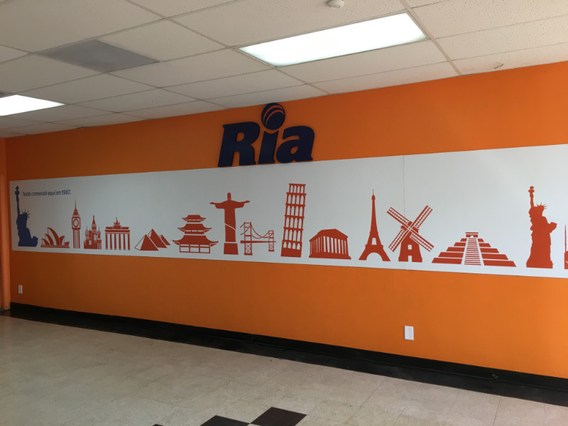Wall murals for retail stores in Orange County CA