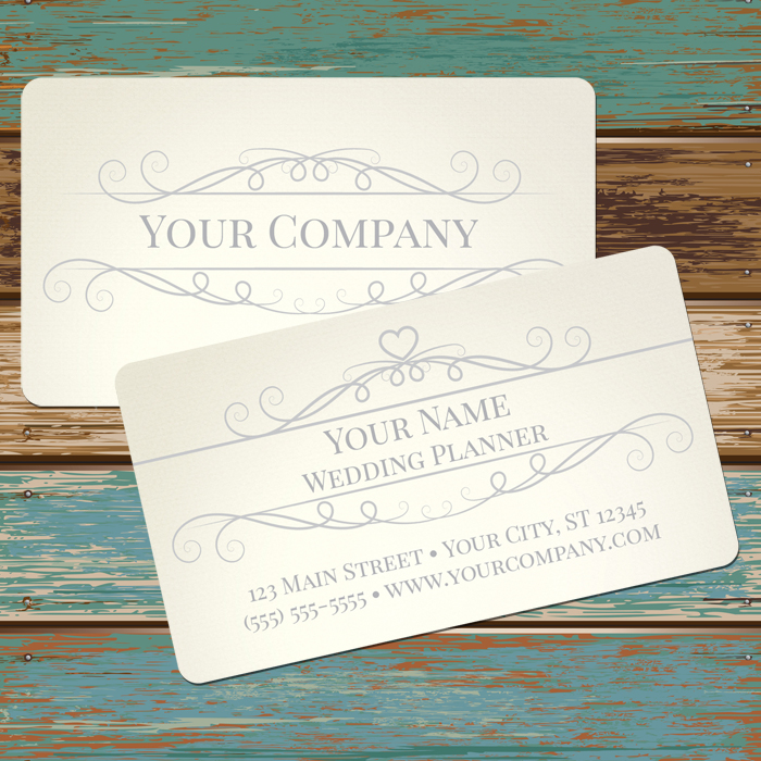 Business Card: 2 sided, full color with rounded corners