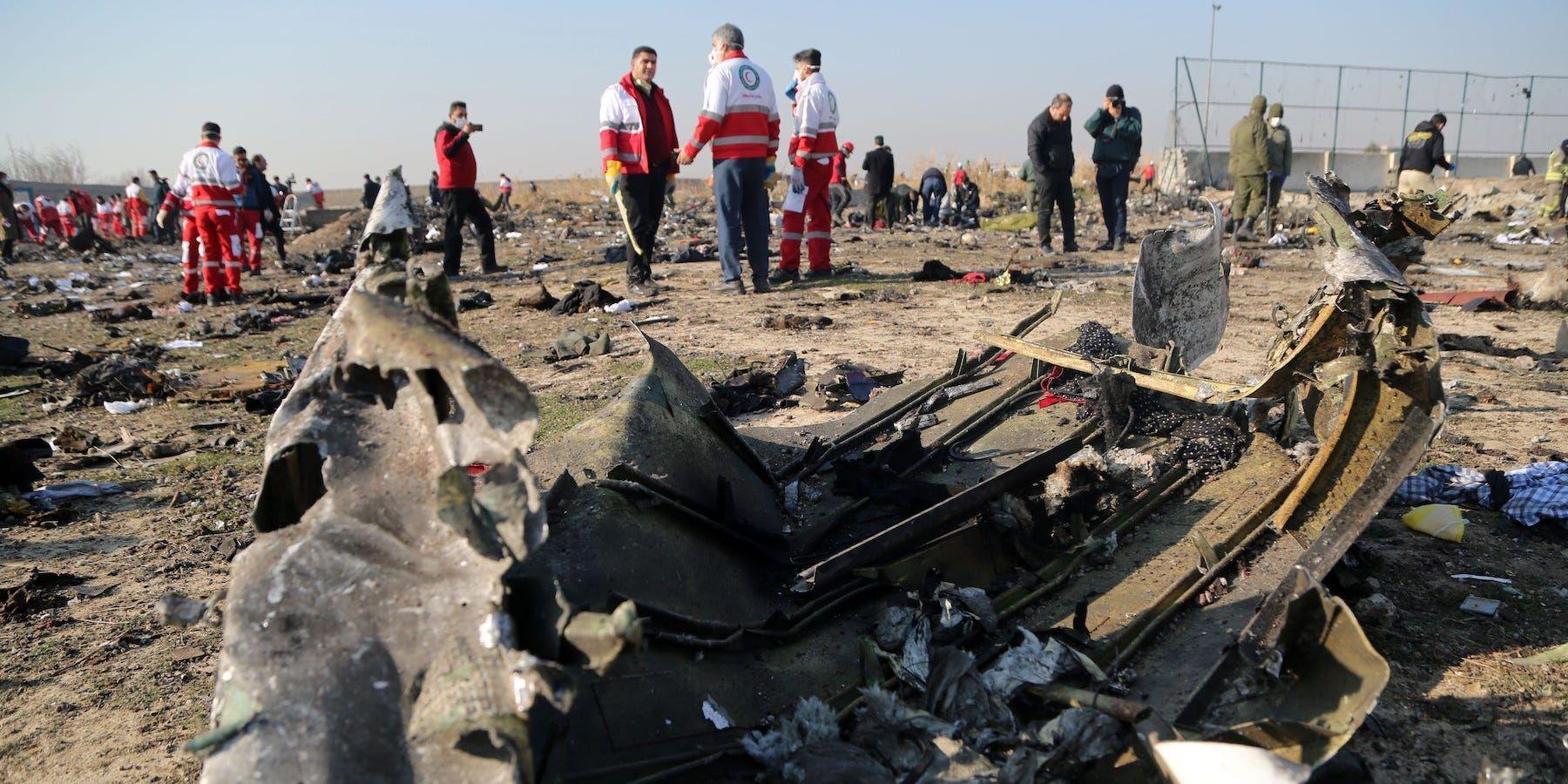 Ukraine knew Flight 752 had been shot down, but it was careful not to antagonize Iran