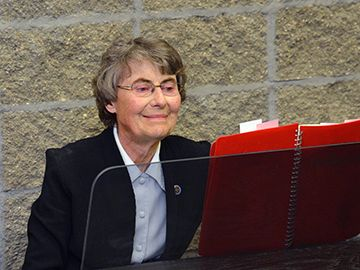 Funeral Reflection for Sister Thomas Welder by Sister Nicole Kunze, Prioress