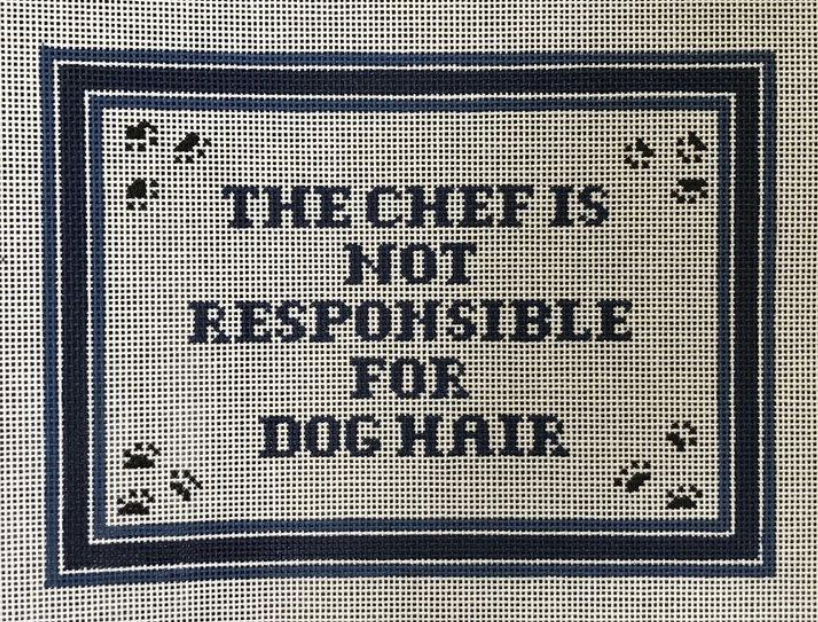 Chef is Not Responsible for Dog Hair