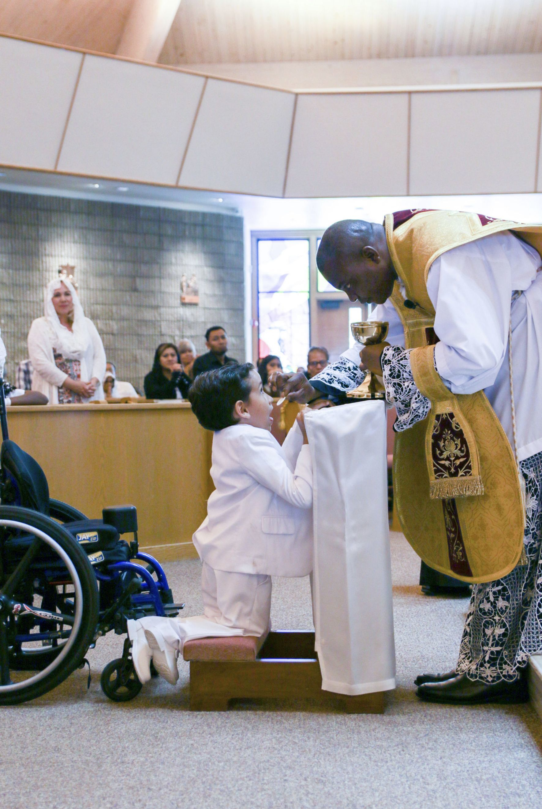 Congregation for the Latin Mass grows to include 11 first communicants