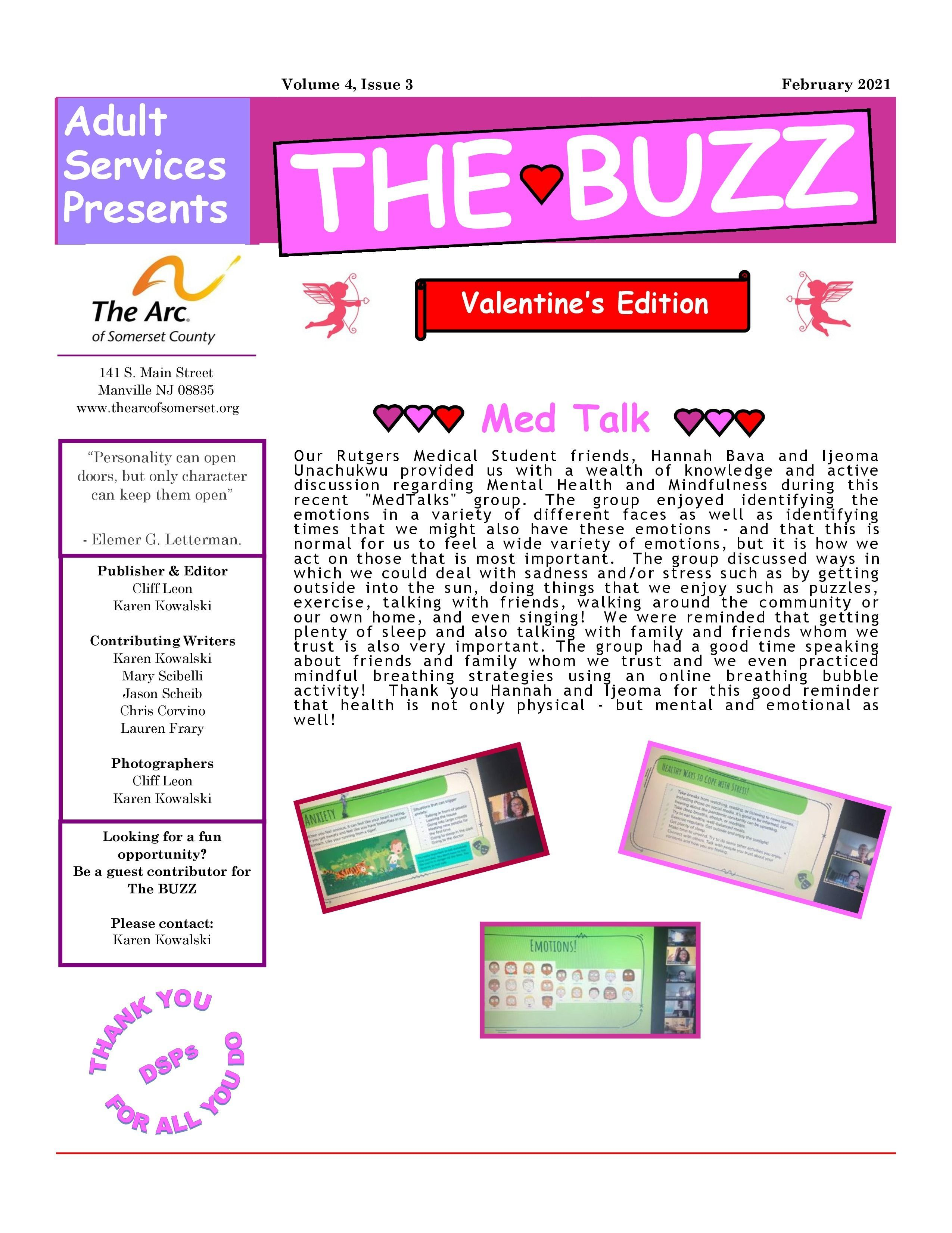 """Check Out this Week's Edition of """"The Buzz"""" e-newsletter"""