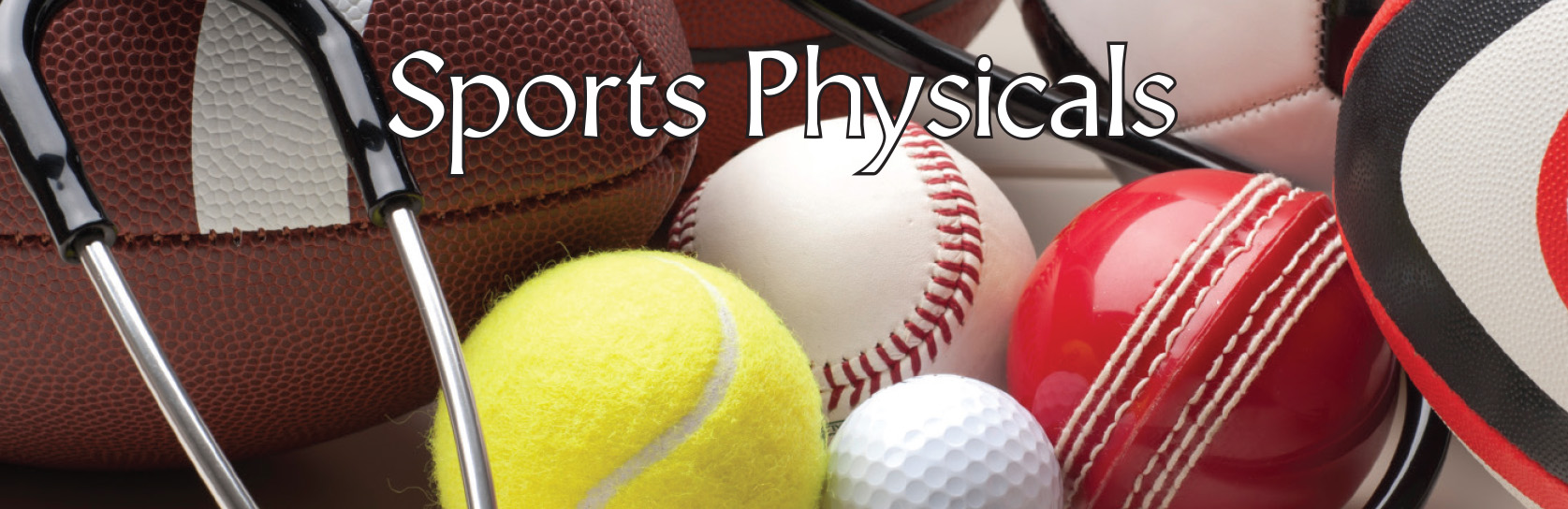 All through July and August receive a sports physical for only $25!