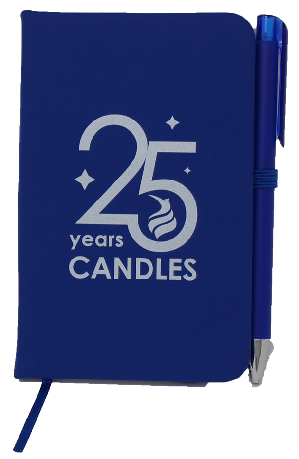 *Limited Edition* CANDLES 25th Anniversary Notebook
