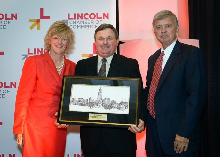 SONE Board Member Byron Boslau Recognized by Lincoln Chamber