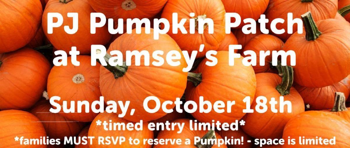 PJ Pumpkin Patch Outing