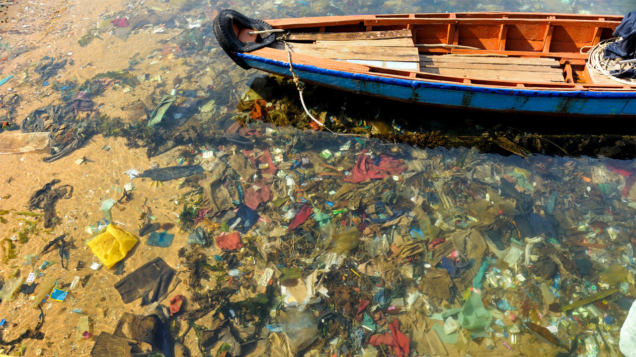 Plastic makes up nearly 70% of all ocean litter