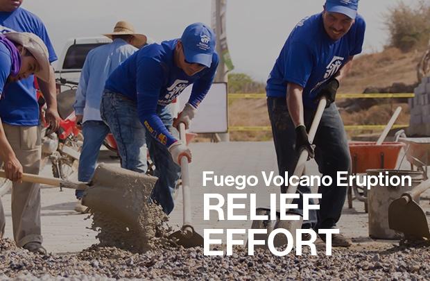 Habitat Guatemala Volcano Relief Effort