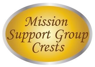 LP-4000 - Plaques of Crests for Air Force Mission Support Groups