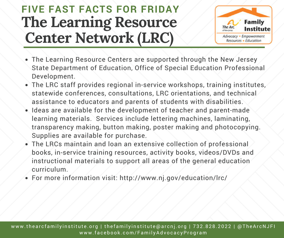 The Learning Resource Center Network (LRC)