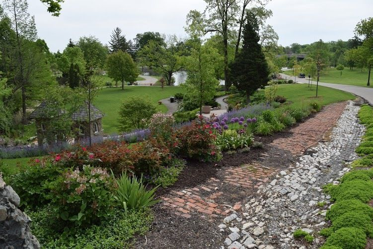 2. Major Charles Beck Memorial Perennial Garden