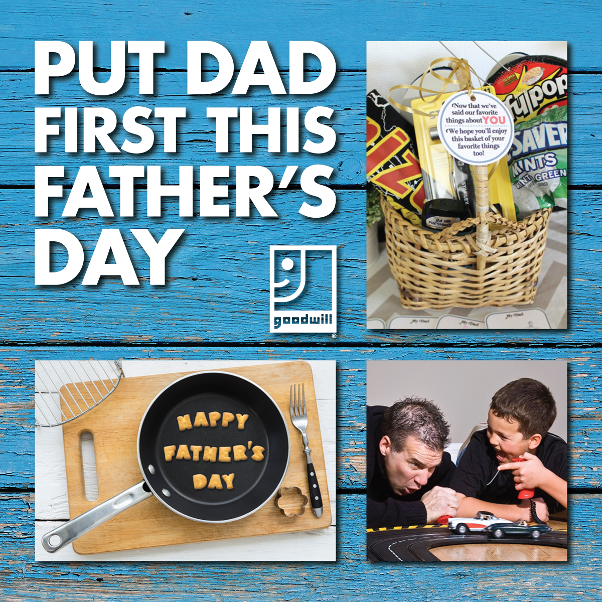 Put Dad First This Father's Day
