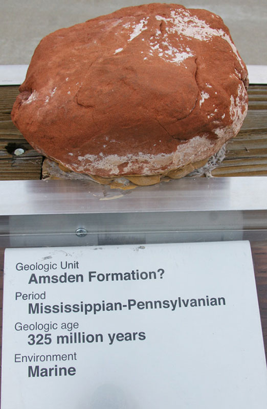 Amsden Formation? - Mississippian-Pennsylvanian
