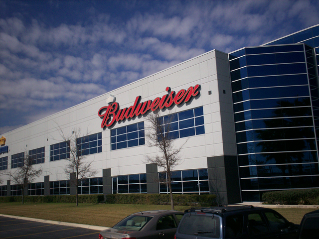 Budweiser- Manufacture & Installation