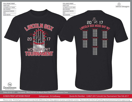 Dri-Fit T-Shirt Order Form