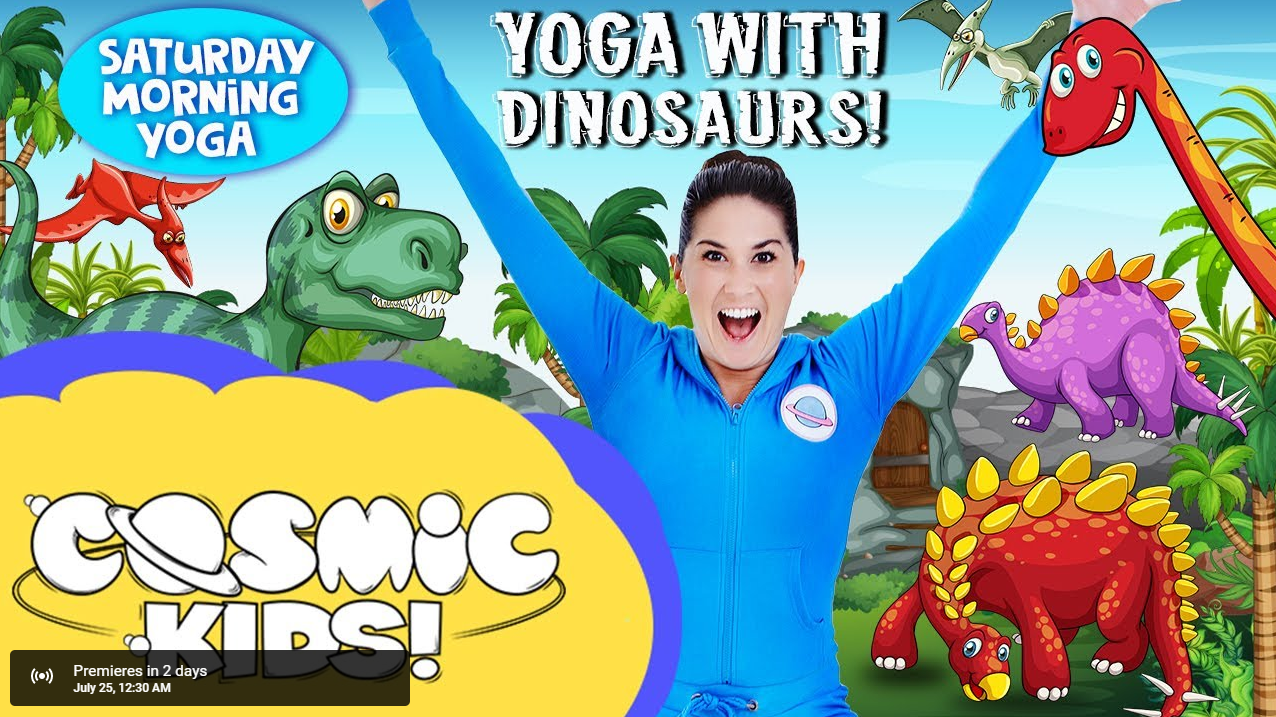 Yoga With Dinosaurs
