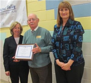 The Arc of Blackstone Valley honored him with a Special Recognition Award earlier this year.