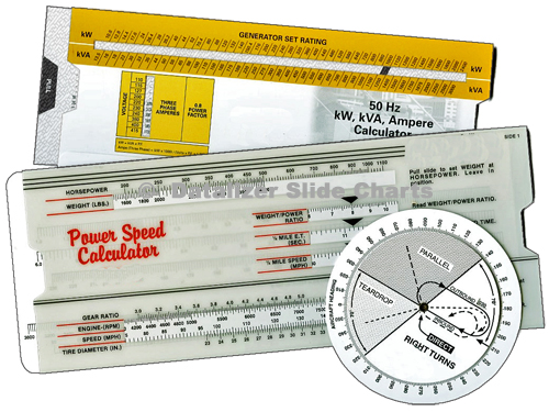 Slide Chart & Wheel Chart Reference Tools