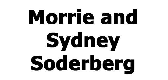 Morrie and Sydney Soderberg
