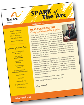 ARC Newsletter Layout