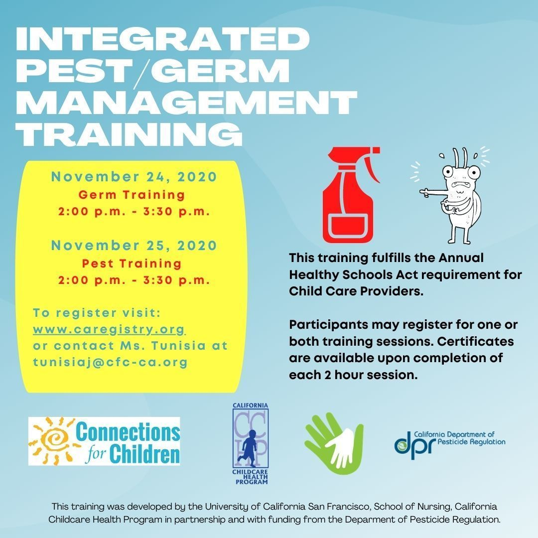 Integrated Germ/Pest Management Training