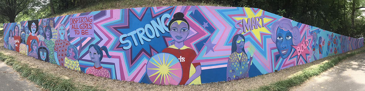 Girls Inc. Unveils New Mural