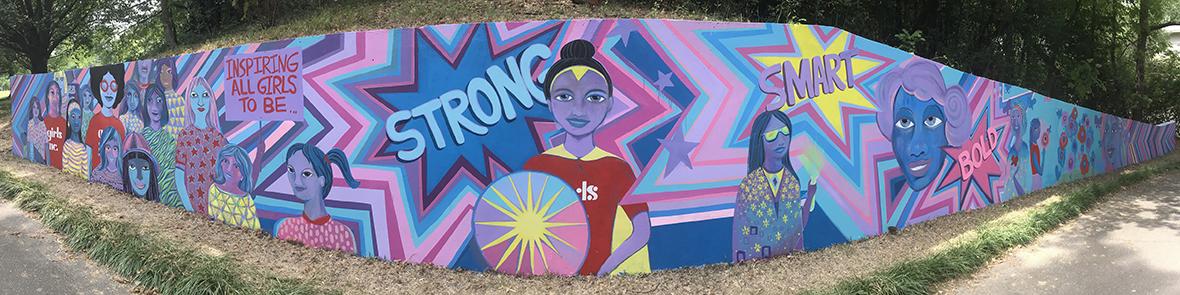 Girls Inc. Unveils New Mural