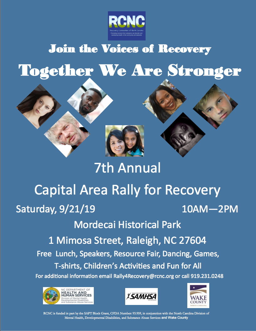 North Carolina Rally for Recovery